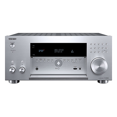 Onkyo TX-RZ800 Argent Ampli-tuner Home Cinéma 7.2 Wi-Fi, Bluetooth, DLNA, AirPlay avec HDMI 4K et Dolby Atmos