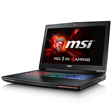 "MSI GT72S 6QE-084FR Dominator Pro G Intel Core i7-6700HQ 8 Go SSD 128 Go + HDD 1 To 17.3"" LED Full HD G-SYNC NVIDIA GeForce GTX 980M 4 Go Graveur DVD Wi-Fi AC/Bluetooth Webcam Windows 10 Famille 64 bits (garantie constructeur 1 an)"
