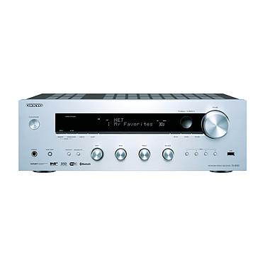 Onkyo TX-8150 Argent Ampli tuner stéréo 2 x 135 W avec Wi-Fi et Bluetooth
