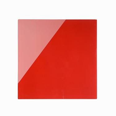 Avis Bi-Office Tableau Mémo en Verre Magnétique Rouge