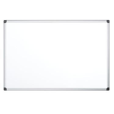 Bi-Office Tableau blanc émaillé 150 x 100 cm Tableau blanc en acier émaillé magnétique effaçable 150 x 100 cm