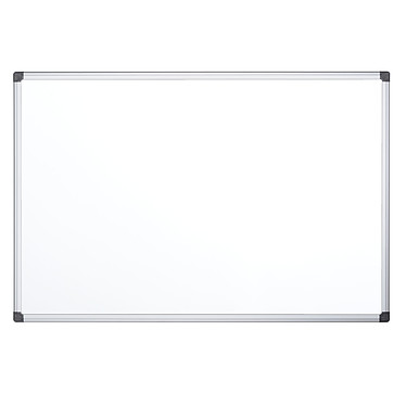 Bi-Office Tableau blanc émaillé 120 x 90 cm Tableau blanc en acier émaillé magnétique effaçable 120 x 90 cm
