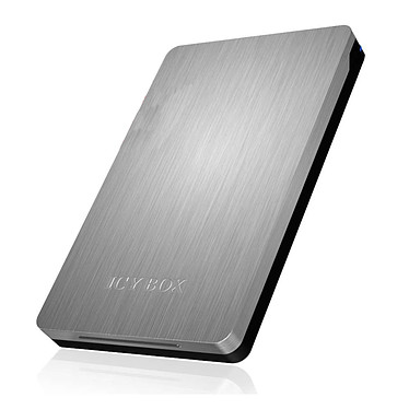 """ICY BOX IB-234-U31 Boîtier pour disque 2.5"""" Serial ATA sur ports USB 3.1 (Argent)"""