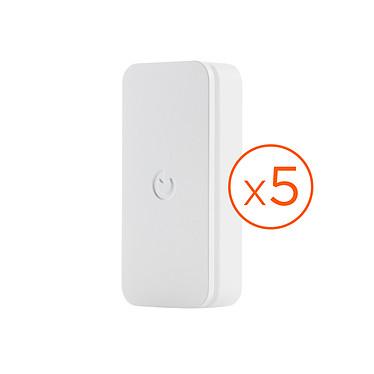 Somfy IntelliTAG x 5 Lot de 5 détecteurs de porte et fenêtre pour système de sécurité Somfy Home Alarm