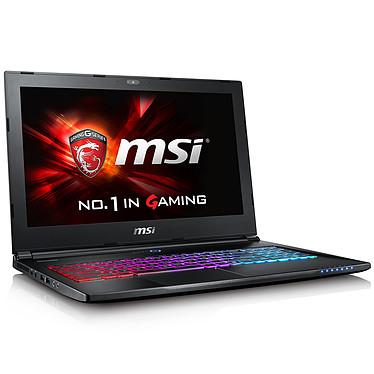 "MSI GS60 6QE-022FR Ghost Pro 4K Intel Core i7-6700HQ 16 Go SSD 256 Go + HDD 1 To 15.6"" LED Ultra HD NVIDIA GeForce GTX 970M Wi-Fi AC/Bluetooth Webcam Windows 10 Famille 64 bits (garantie constructeur 1 an)"