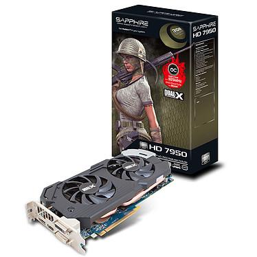 Sapphire HD 7950 With Boost 3 GB Lite RF 3 Go HDMI/Dual DVI/DisplayPort - PCI Express (AMD Radeon HD 7950) - (Produit reconditionné - Etat neuf - Garantie 1 an)