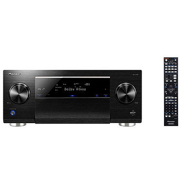 Pioneer SC-LX79 Noir Amplificateur AV 9.2 Direct Energy Class D, Dolby Atmos, DTS:X Upscaling Ultra HD 4K/60p, AIR Studios Monitor Audio Scaler 192kHz/32bit, MCACC Pro, Bluetooth, Wi-Fi