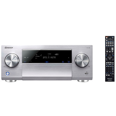 Pioneer SC-LX89 Argent Amplificateur AV 9.2 Direct Energy Class D, Dolby Atmos, DTS:X Upscaling Ultra HD 4K/60p, Certification AIR Studios Monitor Audio Scaler 192kHz/32bit, USB-DAC, Bluetooth, Wi-Fi