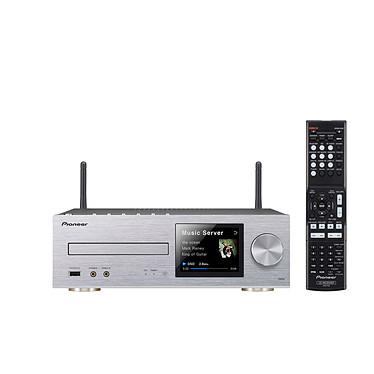Pioneer XC-HM82 Argent Micro-chaîne CD MP3 USB iPod/iPhone/iPad avec Wi-Fi DLNA et Airplay / Sans enceintes