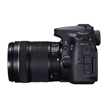 Avis Canon EOS 70D + Objectif 18-55mm IS STM + 100EG + SanDisk Ultra microSDHC 32 Go
