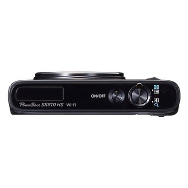 Avis Canon PowerShot SX610 HS Noir + Canon DCC-1570