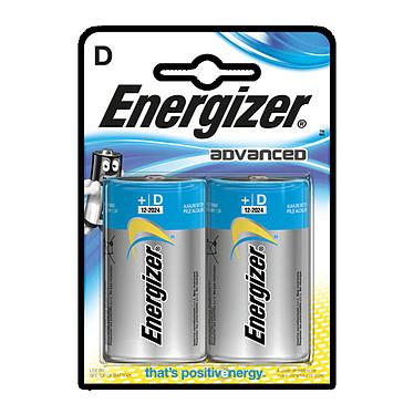 Energizer Advanced D (2 unidades) Pack de 2 pilas D (LR20)