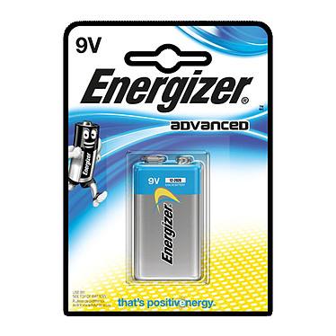Energizer Advanced 9V (à l'unité) Pack de 1 pile 9V (6LR61)