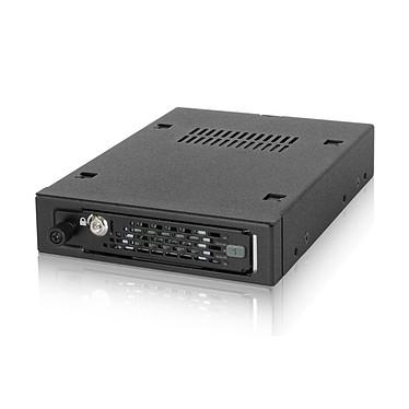 """ICY DOCK MB491SKL-B Rack pour disque dur 2""""1/2 SAS / SATA avec clé de verrouillage (noir)"""