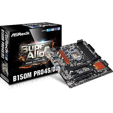 ASRock B150M Pro4S/D3 Carte mère Micro ATX Socket 1151 Intel B150 Express - SATA 6Gb/s - USB 3.0 - DDR3 - 2x PCI-Express 3.0 16x