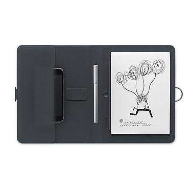 Wacom Bamboo Spark Gadget Pocket Smart folio connecté avec un emplacement pour ranger votre smartphone, vos cartes de visite ou vos papiers