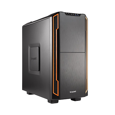 be quiet! Silent Base 600 (naranja) Carcasa de torre media