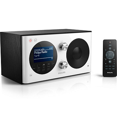 Philips AE8000/10 Radio portable DAB+, Tuner FM numérique avec prise pour casque et horloge intégrée