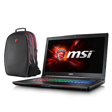"MSI GE72 6QD-008XFR Apache Pro + Sac à dos MSI Gaming OFFERT ! Intel Core i7-6700HQ 8 Go 1 To 17.3"" LED Full HD NVIDIA GeForce GTX 960M Graveur DVD Wi-Fi AC/Bluetooth Webcam (garantie constructeur 1 an)"