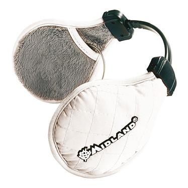 Midland SubZero Hiver Blanc Casque cache-oreille avec télécommande pour smartphone