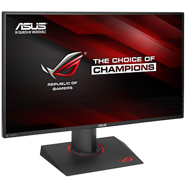 "ASUS 27"" LED - ROG Swift PG279Q 2560 x 1440 pixels - 4 ms (gris à gris) - Format large 16/9 - Dalle IPS - 144 Hz - G-SYNC - Ultra Low Blue Light + Flicker Free - Pivot - DisplayPort - HDMI - Hub USB - Noir (garantie constructeur 3 ans)"