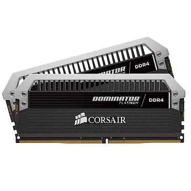 Corsair Dominator Platinum 32 Go (2x 16 Go) DDR4 2800 MHz CL14 Kit Dual Channel 2 barrettes de RAM DDR4 PC4-22400 - CMD32GX4M2B2800C14 (garantie à vie par Corsair)