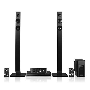 Panasonic SC-BTT465EG-K Ensemble Home Cinema Blu-ray 3D 5.1 Bluetooth, NFC et USB
