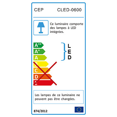 CEP Lampe Led Ice Blue pas cher