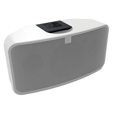 Bluesound Pulse Mini Blanc Système audio multiroom avec Wi-Fi, Bluetooth pour Streaming audio et Web radio compatible Hi-Res Audio