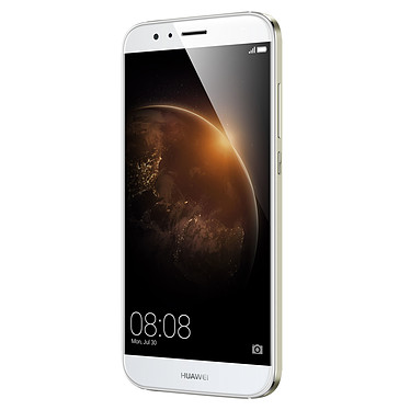 "Huawei GX8 Blanc Smartphone 4G-LTE Dual SIM avec écran tactile Full HD 5.5"" sous Android 5.1"