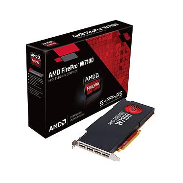 AMD FirePro W7100 8 GB 8 Go - Quad DisplayPort - PCI-Express 3.0 16x