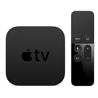 Apple TV 4ª generación 32 GB (MR912FD/A) Bluetooth AirPlay y Siri Remote High Definition Wi-Fi Media Player