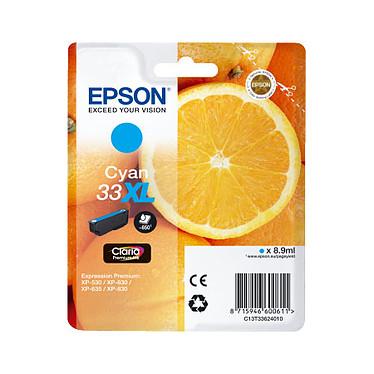"""Epson """"Oranges"""" 33 XL Magenta (C13T33624010) Cartouche d'encre cyan (8.9 ml)"""