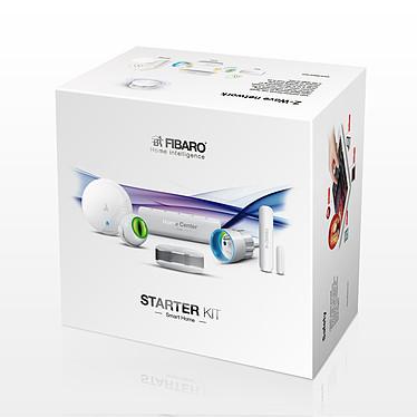 Fibaro Starter Kit Pack de sécurité avec contrôleur, détecteur de fumée, d'innodation, d'ouverture de porte, de mouvements et prise commandée à distance
