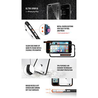 Spigen Case Ultra Hybrid Space Crystal Apple iPhone 6 Plus/6s Plus pas cher