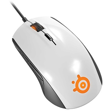SteelSeries Rival 100 (White - blanc)