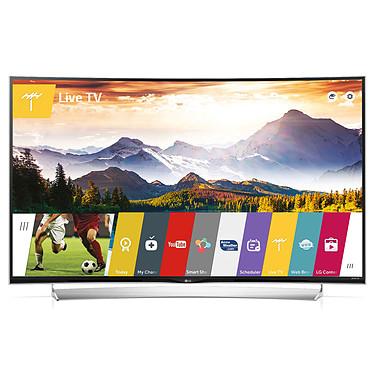 """LG 65UG870V Téléviseur incurvé LED 3D 4K 65"""" (165 cm) 16/9 - 3840 x 2160 pixels - TNT, Câble et Satellite HD - Ultra HD - 2000 Hz - Wi-Fi - Bluetooth - DLNA + 2 paires de lunettes 3D"""