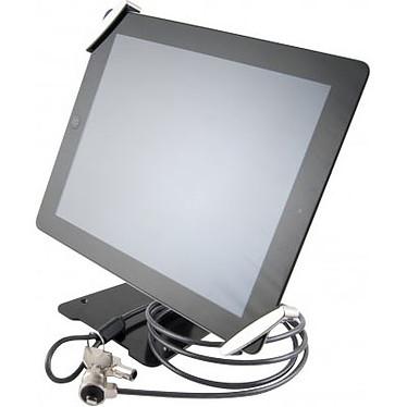 """Sistema antirrobo universal para tableta de 7-10"""" con soporte Sistema antirrobo universal para tableta con soporte y cable de acero con llave tubular"""