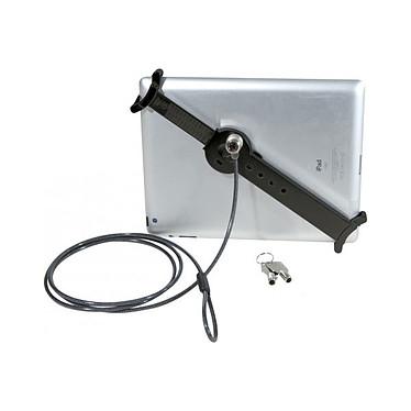 Dispositivo antirrobo universal para tablets de 10-13 pulgadas Sistema antirrobo universal para tableta con cable de acero y llave tubular