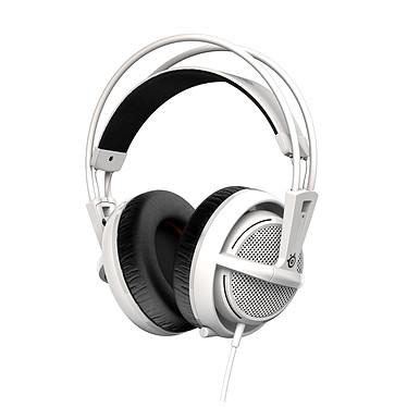 SteelSeries Siberia 200 (White - blanc) Casque gaming - circum-aural fermé - son Stéréo 2.0 - microphone unidirectionnel rétractable - Jack - compatible PC/Mac/PS4
