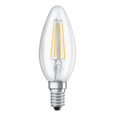 OSRAM Ampoule LED Retrofit flamme E14 4W (37W) A++ Ampoule LED flamme culot E14 filament 4W (37W) 2700K Blanc Chaud