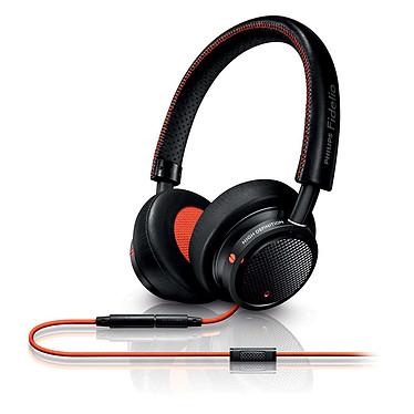 Philips Fidelio M1 MKII Noir/Orange Casque supra-auriculaire fermé Hi Res