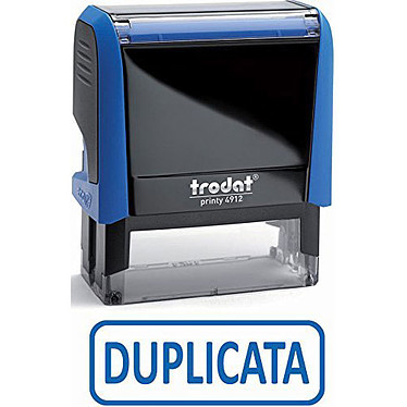 """Trodat Timbre Xprint """"DUPLICATA"""""""