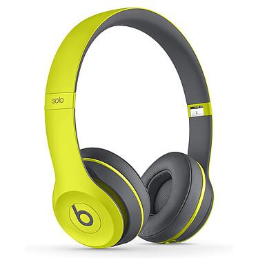 Beats Solo 2 Wireless Active Collection Jaune Casque supra-auriculaire fermé sans fil Bluetooth avec microphone intégré