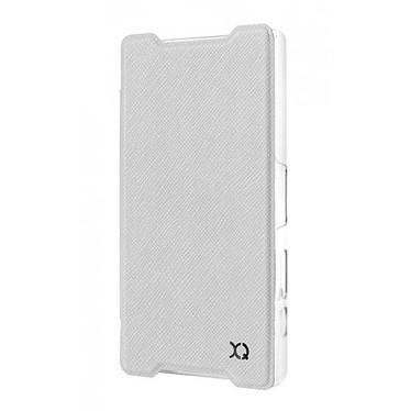 Avis xqisit Etui Flap Cover Adour Blanc Sony Xperia Z5