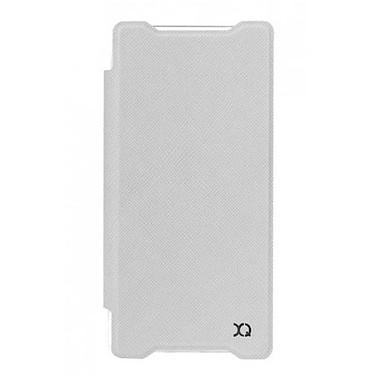 xqisit Etui Flap Cover Adour Blanc Sony Xperia Z5 Compact Etui pour Sony Xperia Z5 Compact