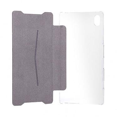xqisit Etui Flap Cover Adour Blanc Sony Xperia Z5 Compact pas cher