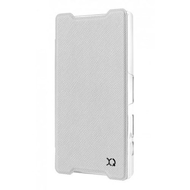 Avis xqisit Etui Flap Cover Adour Blanc Sony Xperia Z5 Compact
