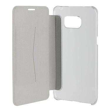 Acheter xqisit Etui Flap Cover Adour Blanc Samsung Galaxy S6 Edge+