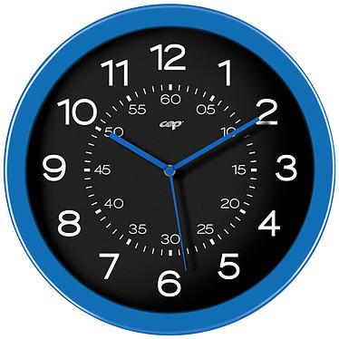 CEP Gloss Horloge analogique magnétique Bleu Horloge aimantée de 30 cm de diamètre